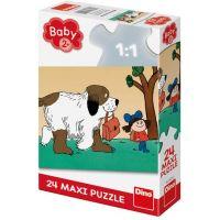 Dino Maxipes Fík maxi puzzle 24 dílků