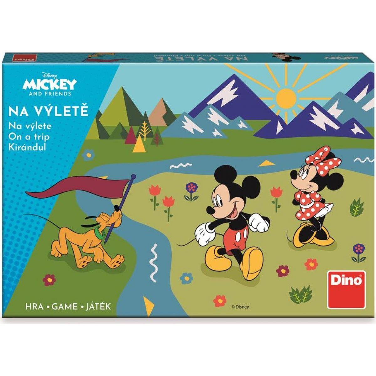 Dino Mickey a kamaráti na výlete detská hra