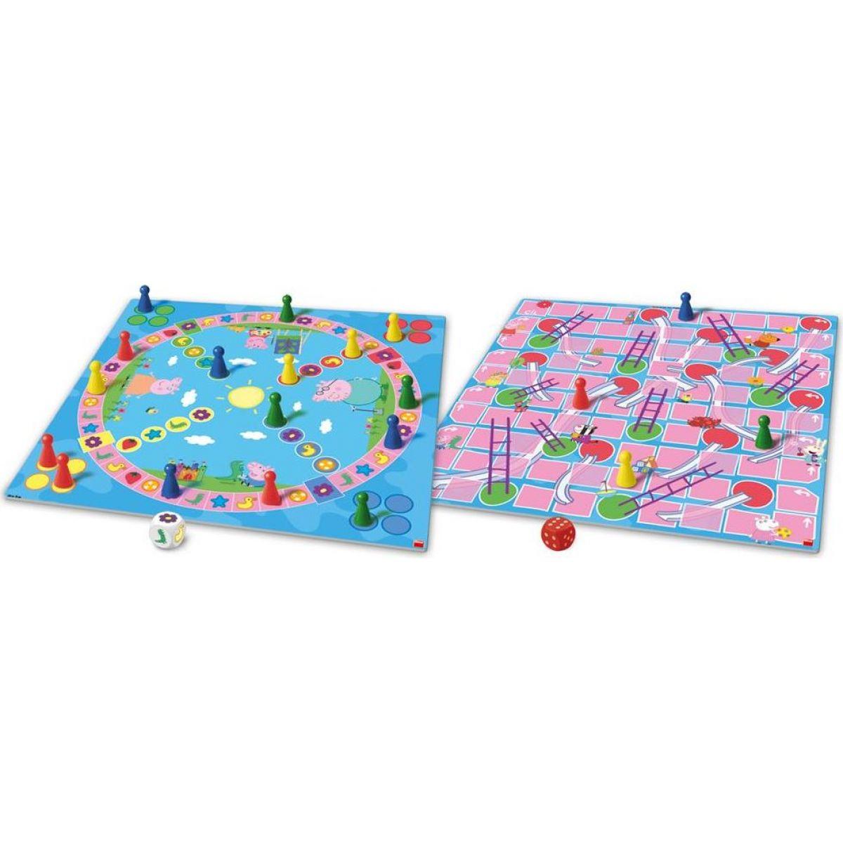 Dino Peppa Pig Poď sa hrať a šmykľavky detská hra