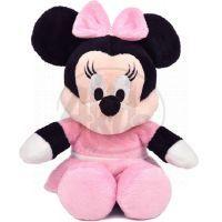 DINO 664197 - Disney Plyšák  25cm - Minnie v růžových šatech