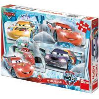 Dino Cars Puzzle Na ledě 4x54d