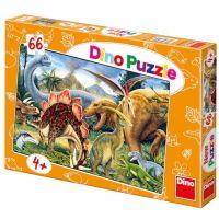 Dino Puzzle Dinosauři 66 dílků