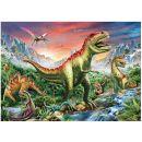 Dino Puzzle Dinosauři plakát 180 XL 2