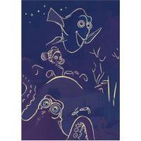 Dino Puzzle Disney Dory neon 100XL dílků 3