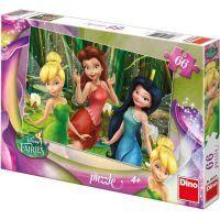 Dino Disney Fairies Puzzle Zvonilka 66 dílků
