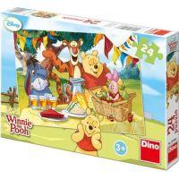 Dino Puzzle Disney Medvídek Pú na hostině 24 dílků