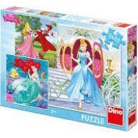 Dino Puzzle Disney Princess Já Princezna 3 x 55 dílků