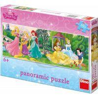 Dino Puzzle Disney Princezny na promenádě 150 dílků