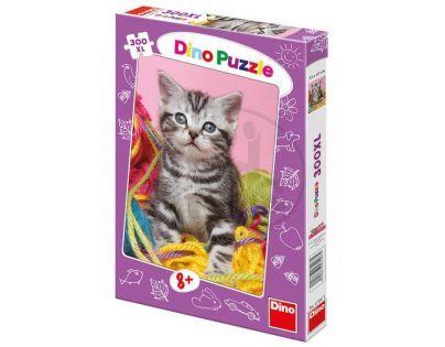 Dino Puzzle Duhové kotě 300 XL dílků