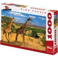 Dino Puzzle Dvě žirafy 1000 dílků