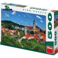 Dino Puzzle Český Krumlov 500 dílků