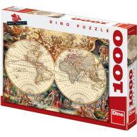 Dino Historická mapa 1000 dílků