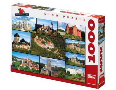 Dino Puzzle Hrady a zámky 1000 dílků