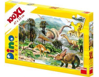 DINO 343146 - Život dinosaurů (100 dílků)