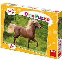 Dino Puzzle Kůň Zlatohřívák 300XL dílků