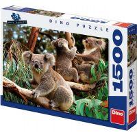 Dino Puzzle Koaly 1500 dílků