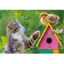 Dino Puzzle koťátko a kamarádi 2x48 dílků 3
