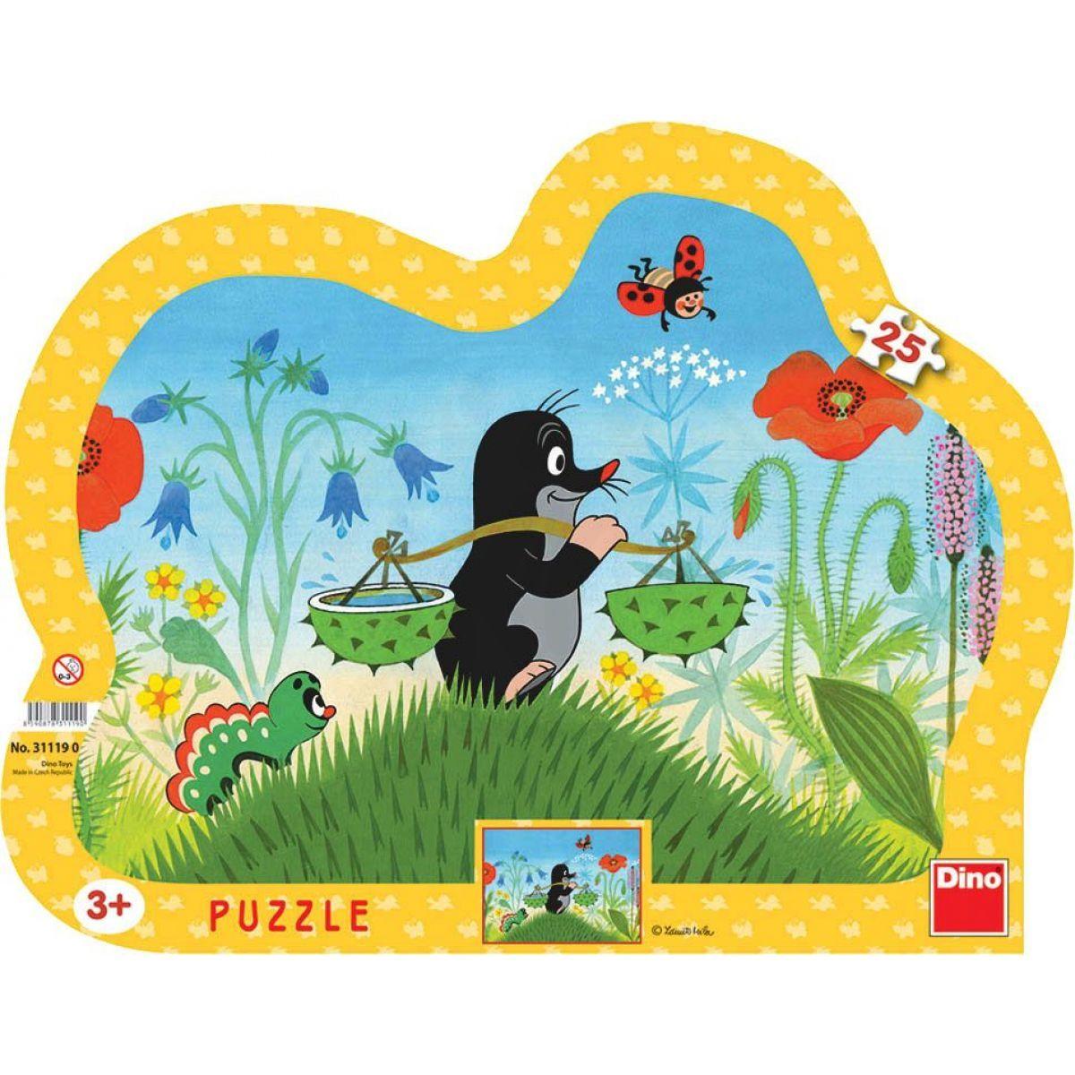 Dino Puzzle Krteček 25 dílků