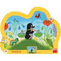 DINO 311190 - Puzzle Krteček (25 dílků)