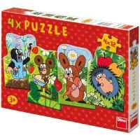 Dino Puzzle Krtek a kamarádi 48 dílků