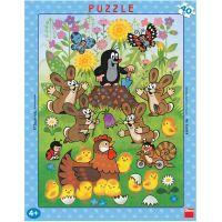 DINO 322028 - Puzzle Krtek a velikonoce (40 dílků)