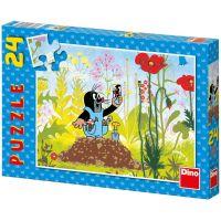 Dino Krteček Puzzle Krtek v kalhotkách 24 dílků
