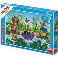 DINO 343061 - Puzzle Krtečkova plavba (100 dílků)