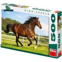 Dino Puzzle Kůň ve výběhu 500 dílků