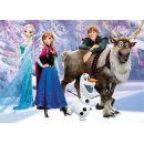 Dino Puzzle Ledové království Elsa a přátelé 24 Maxi dílků 2