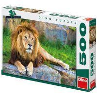 Dino Puzzle Lev 500 dílků