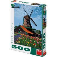 Dino Puzzle Mlýn 500 dílků