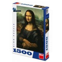 Dino Puzzle Mona Lisa 1500 dílků