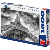 Dino Puzzle Mračna nad Eiffelovkou 1500 dílků