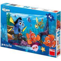Dino Puzzle Nemo na korálovém útesu 66 dílků