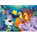 Dino Puzzle Neon Život pod mořem 1000 dílků 2