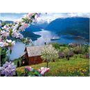 Dino Puzzle Norský fjord 1000 dílků 2
