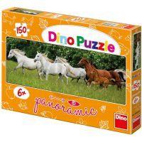 DINO 393042 - Běžící koně  150D panor.