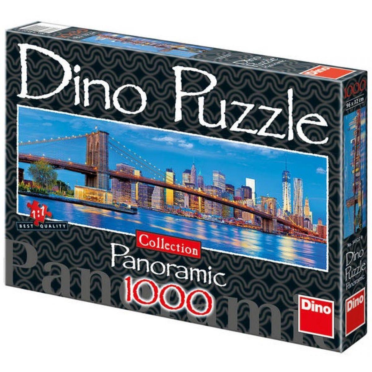 Dino Puzzle Panoramic Brooklynský most 1000 dílků