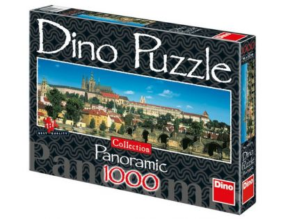 Dino Puzzle Panoramic Pražský hrad 1000 dílků