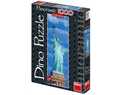 Dino Puzzle Panoramic Socha Svobody 1000 dílků