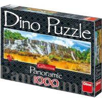 Dino Puzzle Panoramic Vodopády Pongour 1000 dílků