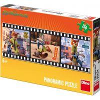 Dino Puzzle Panoramic Zootropolis 150dílků