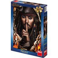 Dino Puzzle Piráti z Karibiku 5 Kapitán Jack 1000 dílků