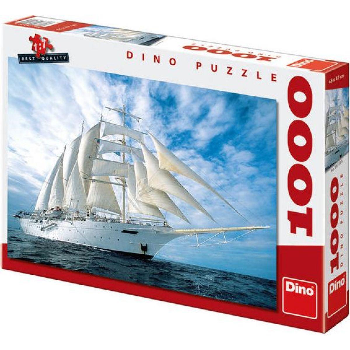 Dino Puzzle Plachetnice 1000 dílků