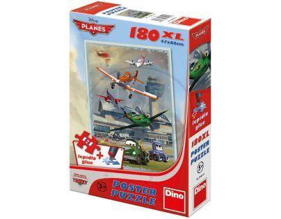 DINO 394018 - Puzzle Planes Hladké přistání (180 dílků)