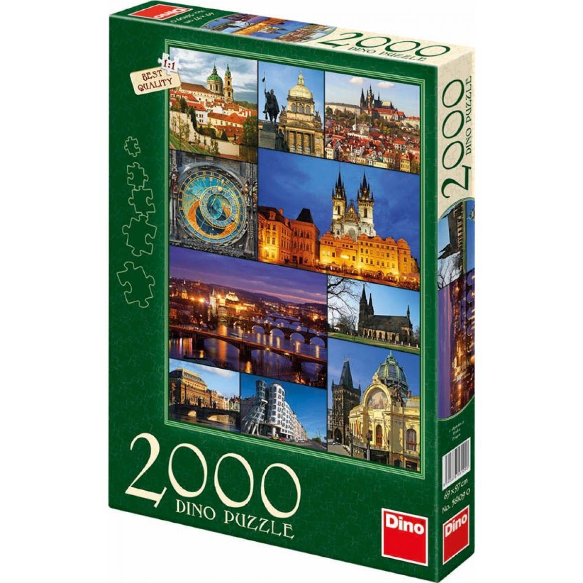 Dino Puzzle Praha 2000dílků