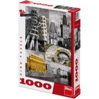 Dino Puzzle Praha koláž 1000 dílků