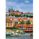 DINO 514010 - Puzzle 500 dílků (AKTIV) - Pražský hrad 2