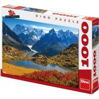 Dino Puzzle Savojské Alpy 1000 dílků