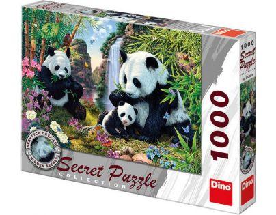 Dino Puzzle Secret Collection Pandy 1000 dílků